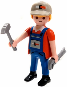 Playmobil Fi?ures Series 5 LOOSE Mini Figure Plumber