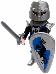 Playmobil Fi?ures Series 5 LOOSE Mini Figure Blue Dragon Knight