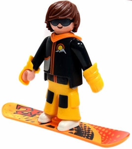 Playmobil Fi?ures Series 5 LOOSE Mini Figure Snowboarder