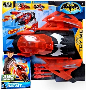 Batman Spin Strike Vehicle Batjet [Lights & Sounds]