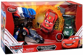 Disney / Pixar CARS Movie Exclusive Playset Deluxe Stunt Launching Set