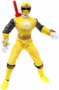 Power Rangers Ninja Storm LOOSE 12 Inch Action Figure with Sound Yellow Wind Ranger