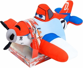 Disney PLANES 12 Inch Action Racer Plush Racing Dusty [Lights & Sounds]
