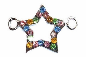 Undee Bandz Rubbzy Rhinestone Rubber Band Bracelet Charm Star BLOWOUT SALE!