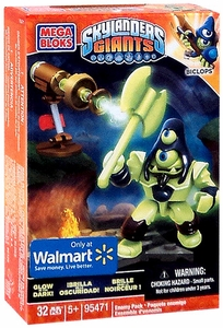 Skylanders Giants Exclusive Mega Bloks Set #95471 Enemy Pack Biclops BLOWOUT SALE!