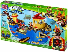 Skylanders SWAP FORCE Mega Bloks Set #95461 Flynn's Rescue Ship BLOWOUT SALE!