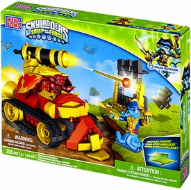 Skylanders SWAP FORCE Mega Bloks Set #95497 Boss Tank Showdown BLOWOUT SALE!