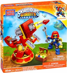 Skylanders Giants Mega Bloks Set #95421 Spocket's Heroic Turret