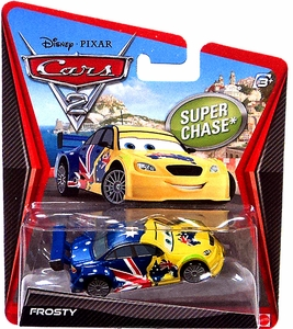 Disney / Pixar CARS 2 Movie 1:55 Die Cast Car Frosty {Australia} Super Chase Piece!