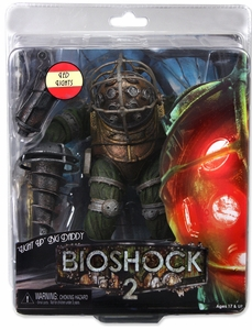 NECA Bioshock 2 Series 3 Ultra Deluxe LIGHT UP Action Figure Big Daddy