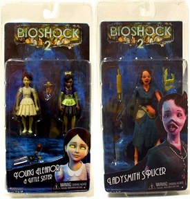 NECA Bioshock 2 Series 2 Set of Both Action Figures [Ladysmith Splicer & Little Sister with Eleanor Lamb]