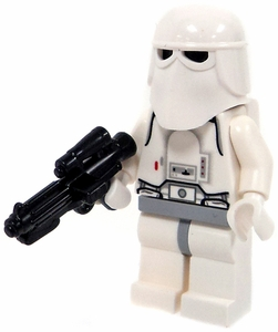 LEGO Star Wars LOOSE Mini Figure Snowtrooper with BrickArms E-11 Blaster