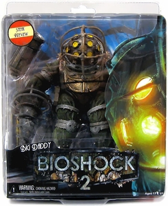 NECA Bioshock 2 Series 1 Ultra Deluxe Action Figure Big Daddy [Sneak Preview]
