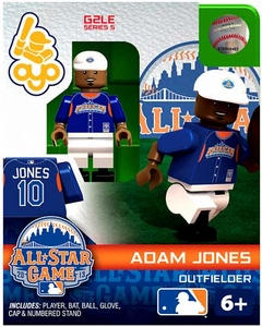 OYO Baseball MLB Generation 2 Building Brick Minifigure Adam Jones [All-Star Game American League]