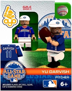 OYO Baseball MLB Generation 2 Building Brick Minifigure Yu Darvish [All-Star Game American League]