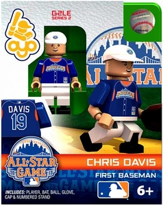 OYO Baseball MLB Generation 2 Building Brick Minifigure Chris Davis [All-Star Game American League]