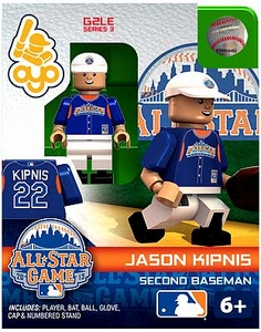 OYO Baseball MLB Generation 2 Building Brick Minifigure Jason Kipnis [All-Star Game American League]