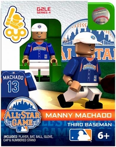 OYO Baseball MLB Generation 2 Building Brick Minifigure Manny Machado [All-Star Game American League]