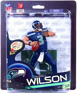 McFarlane Toys NFL Sports Picks Series 33 Action Figure Russell Wilson (Seattle Seahawks)