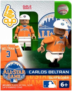 OYO Baseball MLB Generation 2 Building Brick Minifigure Carlos Beltran [All-Star Game National League]