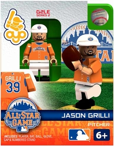 OYO Baseball MLB Generation 2 Building Brick Minifigure Jason Grilli [All-Star Game National League]