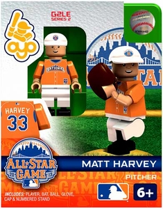 OYO Baseball MLB Generation 2 Building Brick Minifigure Matt Harvey [All-Star Game National League]