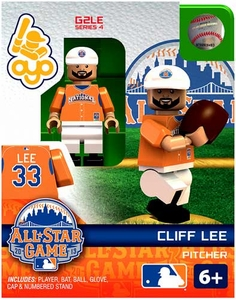 OYO Baseball MLB Generation 2 Building Brick Minifigure Cliff Lee [All-Star Game National League]