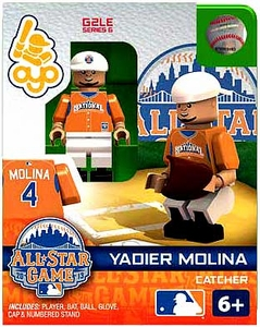 OYO Baseball MLB Generation 2 Building Brick Minifigure Yadier Molina [All-Star Game National League]