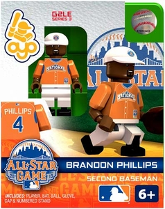 OYO Baseball MLB Generation 2 Building Brick Minifigure Brandon Phillips [All-Star Game National League]