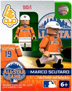 OYO Baseball MLB Generation 2 Building Brick Minifigure Marco Scutaro [All-Star Game National League]