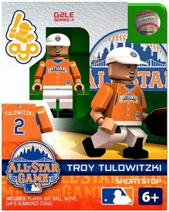 OYO Baseball MLB Generation 2 Building Brick Minifigure Troy Tulowitzki [All-Star Game National League]
