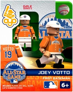 OYO Baseball MLB Generation 2 Building Brick Minifigure Joey Votto [All-Star Game National League]