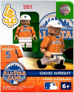 OYO Baseball MLB Generation 2 Building Brick Minifigure David Wright [All-Star Game National League]