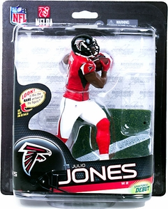 McFarlane Toys NFL Sports Picks Series 33 Action Figure Julio Jones (Atlanta Falcons) Red Jersey