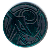 Pokemon Collectible Game Plastic Coin Rayquaza