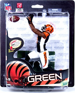 McFarlane Toys NFL Sports Picks Series 33 Action Figure AJ Green (Cincinnati Bengals) Black Jersey