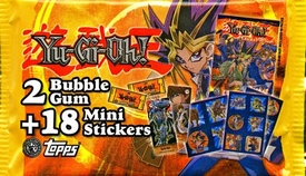 Topps YuGiOh Pocket Collection Sticker Pack [18 Mini Stickers]