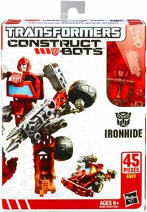 Transformers Construct-Bots Series 1 Scout Action Figure Ironhide Pre-Order ships July