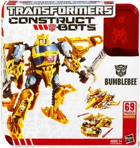 Transformers Construct-A-Bots Series 1 Tripple Changer Action Figure Bumblebee Pre-Order ships March