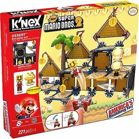Super Mario K'NEX Set #38623 Desert Building Set