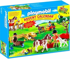 Playmobil Advent Calendar Set #4167 Pony Farm