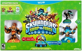 Skylanders SWAP FORCE Nintendo Wii U Starter Pack BLOWOUT SALE!