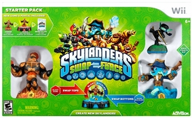 Skylanders SWAP FORCE Nintendo Wii Starter Pack BLOWOUT SALE!