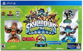 Skylanders SWAP FORCE PS4 Starter Pack