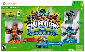 Skylanders SWAP FORCE Xbox 360 Starter Pack BLOWOUT SALE!