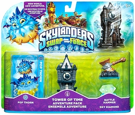 Skylanders SWAP FORCE Adventure Pack Tower of Time [Pop Thorn, Tower of Time, Battle Hammer & Sky Diamond] BLOWOUT SALE!