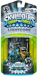 Skylanders SWAP FORCE Exclusive Lightcore Figure Legendary Grim Creeper