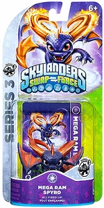 Skylanders SWAP FORCE Series 3 Figure Mega Ram Spyro BLOWOUT SALE!