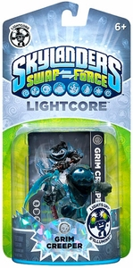 Skylanders SWAP FORCE Lightcore Figure Grim Creeper BLOWOUT SALE!