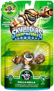 Skylanders SWAP FORCE Swappable Figure Grilla Drilla